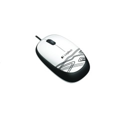 LOGITECH M105 MOUSE WHITE image here