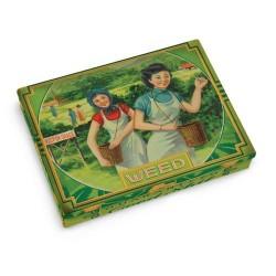TIN POCKET BOX (WEED) image here