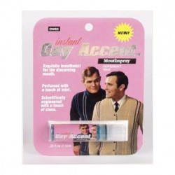 BREATH SPRAY (INSTANT GAY ACCENT) image here