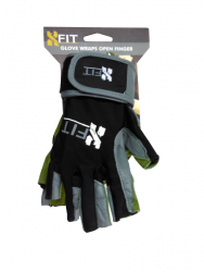 FA X-FIT OPEN FINGER MEN WRAPS GLOVE image here
