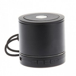 AEC MINI BLUETOOTH SPEAKER WITH FM AND MICRO SD MP3 PLAYER – BLACK image here