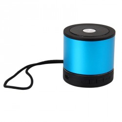 AEC MINI BLUETOOTH SPEAKER WITH FM AND MICRO SD MP3 PLAYER – BLUE image here