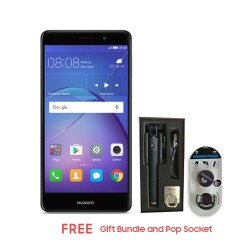 HUAWEI GR5 2017 32GB (GREY) WITH FREE GIFT BUNDLE AND POP SOCKET image here