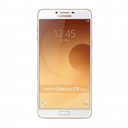 SAMSUNG GALAXY C9 PRO 64GB (GOLD) WITH FREE SAMSUNG LEVEL U PRO   image here