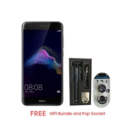 HUAWEI GR3 2017 16GB (BLACK) WITH FREE GIFT BUNDLE AND POP SOCKET image here