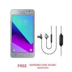 Samsung Galaxy J2 Prime (Silver) with Free Samsung Level in-anc Earphones image here