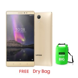LENOVO PHAB 2 32GB (CHAMPAGNE GOLD) DRY BAG image here