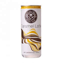 THE COFFEE BEAN & TEA LEAF® CARAMEL LATTE READY-TO-DRINK BY 24S image here
