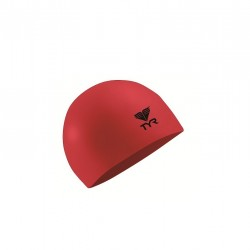 TYR LATEX SWIM CAP (RED) image here