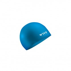 TYR. NO WRKLE SILICONE CAP BLU image here