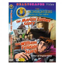 2 IN 1 THE MARTIN LUTHER STORY / THE WILLIAM TYNDALE STORY image here