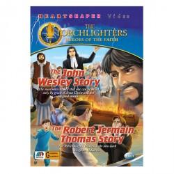 2 IN 1 THE JOHN WESLEY STORY / THE ROBERT JERMAIN THOMAS STORY image here