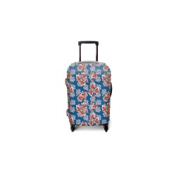 FLORAL LUGGAGE COVER MEDIUM image here
