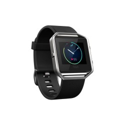 FITBIT BLAZE SMART FITNESS WATCH - XLARGE (BLACK SILVER) image here