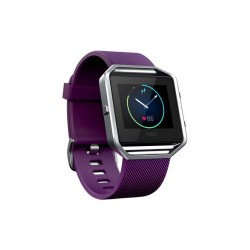 FITBIT BLAZE SMART FITNESS WATCH - SMALL (PLUM SILVER) image here