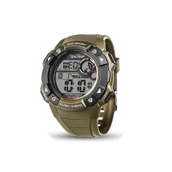 UNISILVER TIME GREEN SENTRY DIGITAL MEN'S WATCH KW1597-1001 (ARMY GREEN)   image here