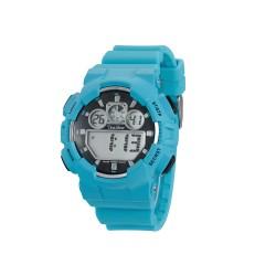 UNISILVER TIME URBANITE DIGITAL WATCH KW1491-1002 (AQUA BLUE)   image here