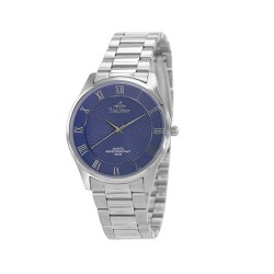UNISILVER TIME MEN'S  CLASSICA PAIR STAINLESS STEEL BLUE WATCH KW2160-1103 image here