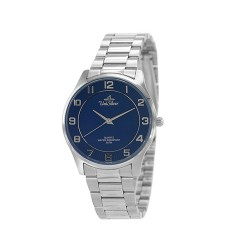 UNISILVER TIME MEN'S RADIANZA PAIR STAINLESS STEEL BLUE WATCH KW1911-1103 image here
