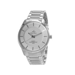 UNISILVER TIME MEN'S CYKLON ANALOG STAINLESS STEEL WHITE WATCH KW2001-1119 image here
