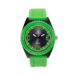 UNISILVER TIME UNISEX SMASHERZ ANALOG RUBBER BLACK / GREEN WATCH KW2195-1004 image here