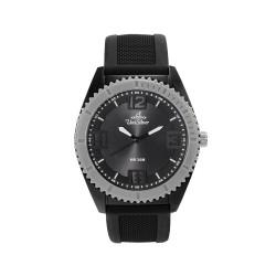 UNISILVER TIME UNISEX SMASHERZ ANALOG RUBBER BLACK / GRAY WATCH KW2195-1005 image here