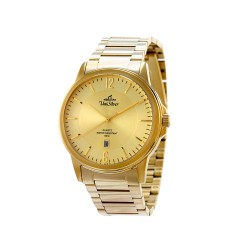 UNISILVER TIME MEN'S STINGPOINT PAIR ANALOG STAINLESS STEEL GOLD WATCH KW1601-1206 image here