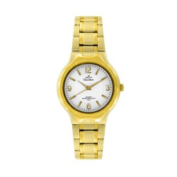 UNISILVER TIME MEN'S GOLD / WHITE STAINLESS STEEL WATCH KW086-1204  image here