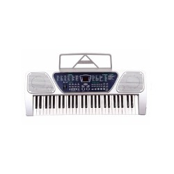 DIGITAL ELECTRONIC KEYBOARD PIANO ORGAN W/ STAND PACKAGE (GRAY) image here