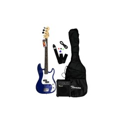 THOMSON ELECTRIC BASS GUITAR PACKAGE (BLUE)   image here