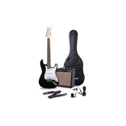 THOMSON ST-1 ELECTRIC GUITAR PACKAGE WITH TUNER (BLACK)   image here