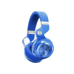 BLUEDIO T2 TURBINE FOLDABLE BLUETOOTH HEADSET (BLUE) image here