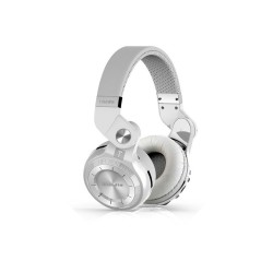 BLUEDIO T2 TURBINE FOLDABLE BLUETOOTH HEADSET (WHITE) image here