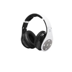 BLUEDIO R+ BLUETOOTH OVER THE EAR HEADPHONES (WHITE) image here