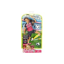 BARBIE ACTIVE SPORTS DOLL - FOOT BALL image here