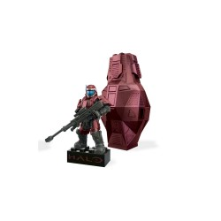 MEGABLOKS HALO DROP POD  - RED ODST image here
