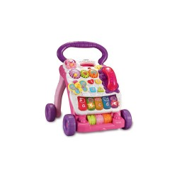 VTECH FIRST STEPS BABY WALKER (PINK) image here