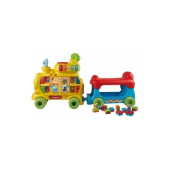 VTECH PUSH AND RIDE ALPHABET TRAIN image here