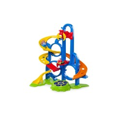BRIGHT STARTS GO GRIPPERS BOUNCE N ZOOM SPEEDWAY image here