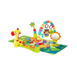 BRIGHT STARTS JUNGLE DISCOVERY ACTIVITY GYM image here
