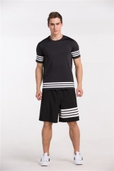 Black White Striped image here