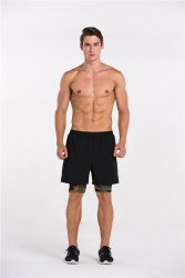 Black Short w/ Army Camo Inner Cycling image here
