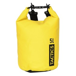 TACTICS ULTRA DRY BAG 5L- YELLOW image here