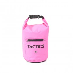 TACTICS WATERPROOF ZIP DRY BAG 5L-PINK image here