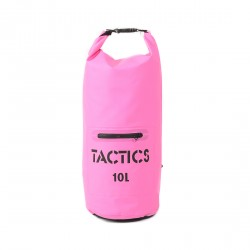 TACTICS WATERPROOF ZIP DRY BAG 10L-PINK image here