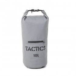 TACTIS WATERPROOF ZIP DRY BAG 10L-GRAY image here