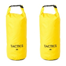 TACTICS DRYBAGPACK 20L SET OF 2 YELLOW image here