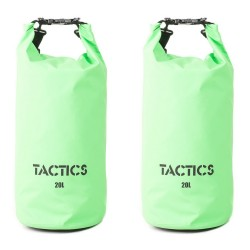 TACTICS DRY BAG PACK 20L SET OF 2 GREEN image here