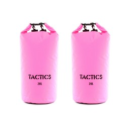 TACTICS DRYBAGPACK 20L SET OF 2 PINK image here