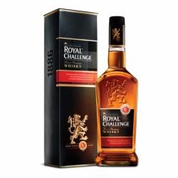 Royal Challenge Whisky 750 ml image here